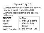 Physics Day 15