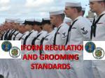 PPT - United States Navy Uniform Regulations PowerPoint