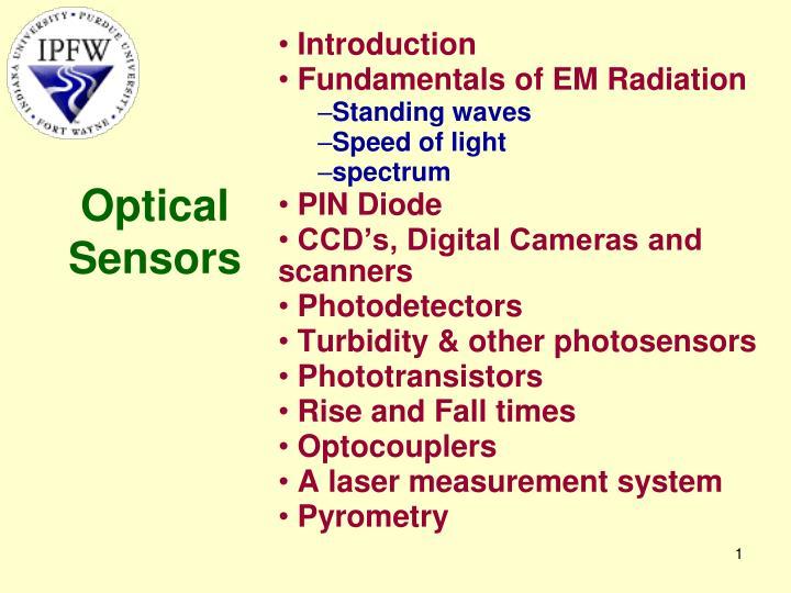 optical sensors n.