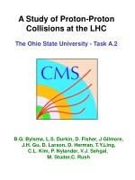 A Study of Proton-Proton Collisions at the LHC