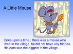 A Little Mouse