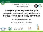 Dr. Hung Nguyen-Viet