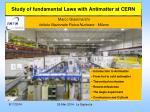 Marco Giammarchi Istituto Nazionale Fisica Nucleare - Milano