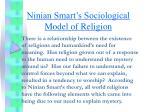 Ninian Smart's Sociological Model of Religion