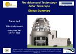 The Advanced Technology Solar Telescope