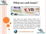 Get Cash Loans for a Variety of Unexpected Expenses