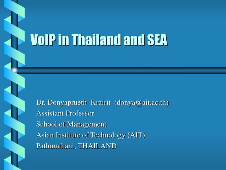 voip in thailand and sea n.