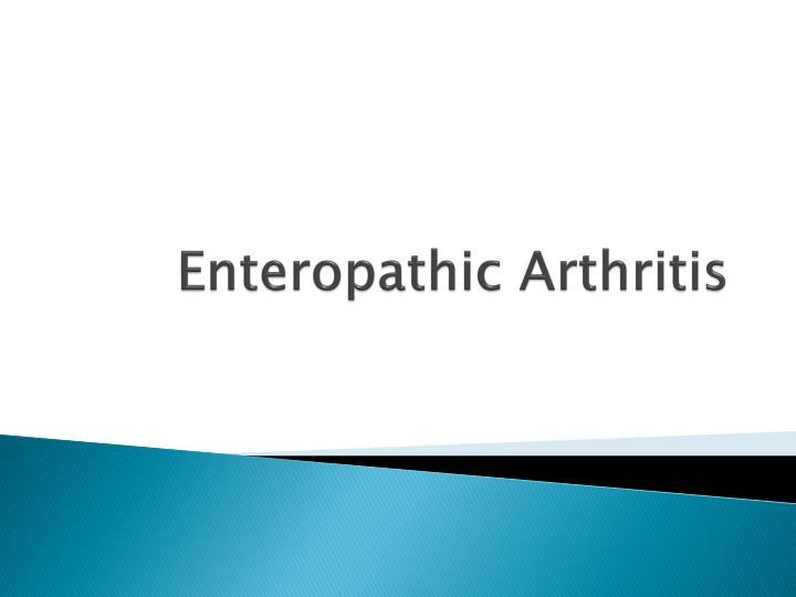 enteropathic arthritis n.