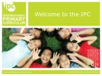 Welcome to the IPC