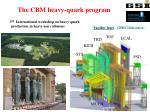 The CBM heavy-quark program