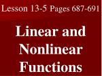 Lesson 13-5 Pages 687-691
