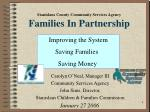 Stanislaus County Community Services Agency Families In Partnership