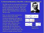 E. Electrical Resistivity of the FEG: A Derivation of Ohm's Law