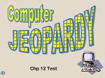 Chp 12 Test
