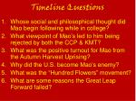 Timeline Questions