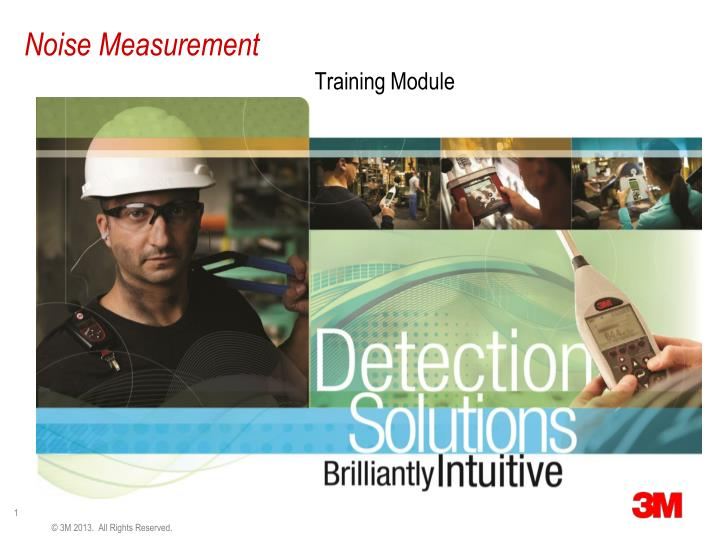noise measurement n.