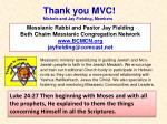 Messianic Rabbi and Pastor Jay Fielding Beth Chaim Messianic Congregation Network BCMCN