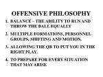 OFFENSIVE PHILOSOPHY