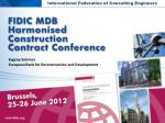International Federation of Consulting  Engineers