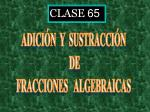 CLASE 65