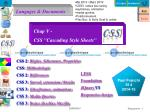 """Chap V - CSS """"Cascading Style Sheets"""""""