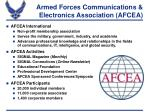Armed Forces Communications & Electronics Association (AFCEA)