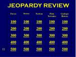 JEOPARDY REVIEW