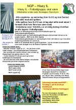 NGP – Hisøy IL Hisøy IL – Fotballgruppa skal være billettvakter under årets Norwegian Grand prix