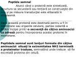 Peptide semnal