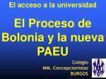 Colegio MM. Concepcionistas BURGOS