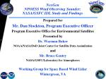 NexGen NPOESS Wind Observing Sounder:   NASA/GSFC IDL Study and Findings
