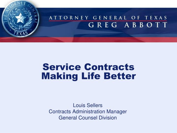 service contracts making life better n.