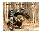 OHV Use on National Forest Lands