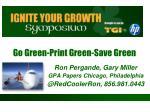 Go Green-Print Green-Save Green