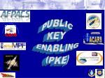 PUBLIC KEY  ENABLING (PKE)