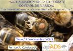 """""""ACTUALIZACION DE LA BIOLOGIA Y CONTROL DE VARROA,"""