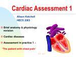 Cardiac Assessment 1
