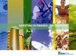 5 reasons for investing in Rwanda