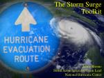 The Storm Surge Toolkit