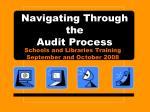 Navigating Through the Audit Process