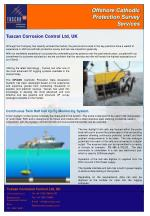 Offshore Cathodic Protection Survey Services
