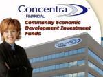 Community Economic Development Investment Funds