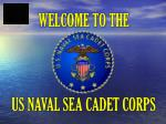 Welcome to the US Naval Sea Cadet Corps