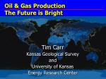 Oil & Gas Production The Future is Bright