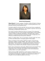 Afarah Board Biography