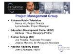 Project Management Group