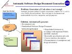 Automatic Software Design Document Generation