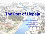 The Port of Liepaja