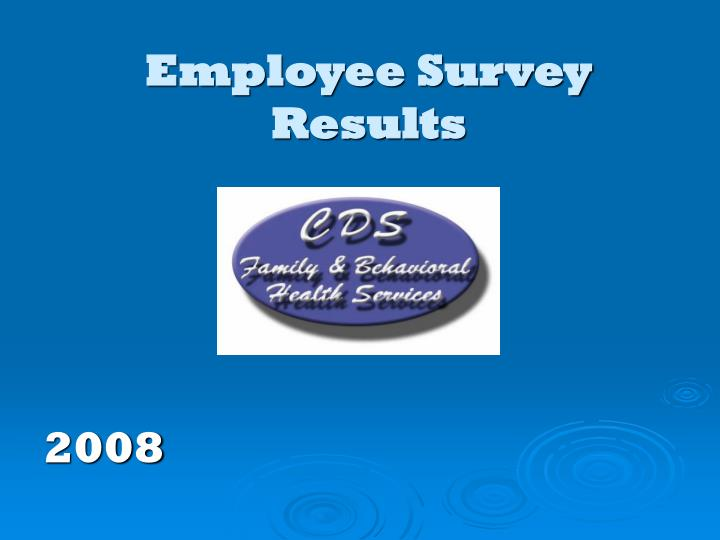 employee survey results n.