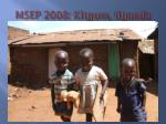 MSEP 2008: Kitgum, Uganda